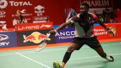 Indosport - Edwin Ekiring, raja bulutangkis Afrika.