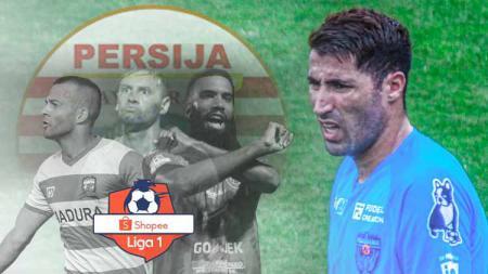 Statistik Ibba Laajab lebih hebat dari top skor Liga 1, dan layak ke Persija Jakarta. - INDOSPORT
