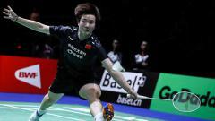 Indosport - Pebulutangkis tunggal putri China, He Bingjiao
