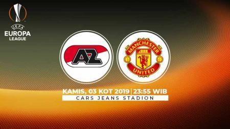 Terdapat kejutan di daftar susunan pemain dalam laga kedua grup L Liga Europa 2019/20 antara AZ Alkmaar melawan Manchester United pada Kamis (3/10/19). - INDOSPORT