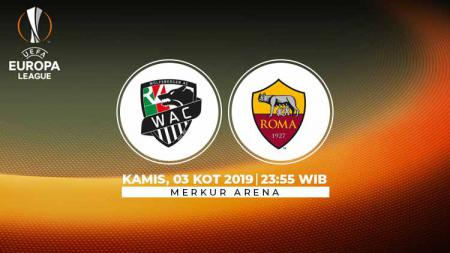 Berikut link live streaming pertandingan Liga Europa 2019-2020 antara Wolfsberger AC vs AS Roma - INDOSPORT