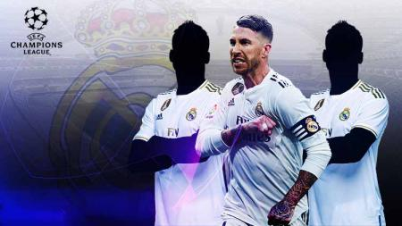 Real Madrid singkirkan 3 bintang dari skuat utama di matchday 2 Liga Champions. - INDOSPORT