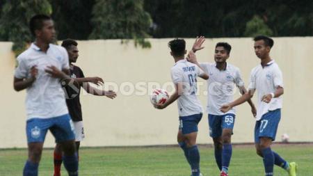 PSIS Semarang U-20 sukses mengandaskan perlawanan Bhayangkara FC U-20 pada laga perebutan tempat ketiga kompetisi Elite Pro Academy U-20. - INDOSPORT