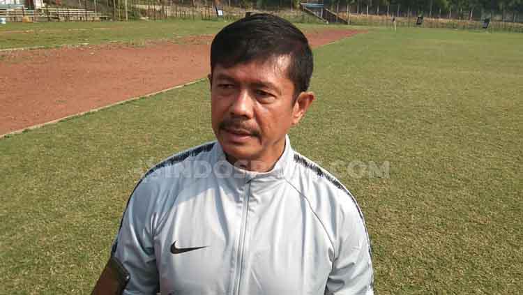 Indra Sjafri pelatih Timnas Indonesia U-23 Copyright: Zainal Hasan/INDOSPORT