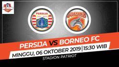 Indosport - Prediksi Persija Jakarta vs Borneo FC.