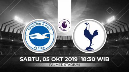 Prediksi Brighton & Hove Albion Football Club vs Tottenham Hotspur - INDOSPORT