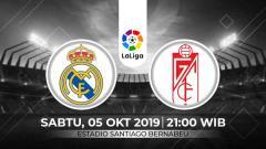 Indosport - Prediksi Real Madrid vs Granada.