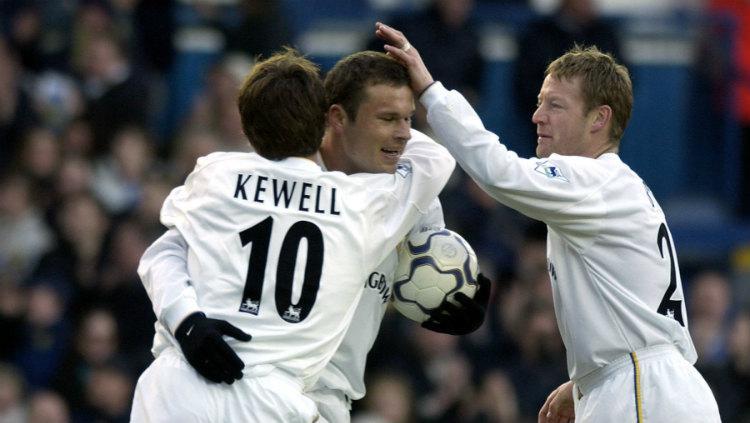Harry Kewell dan Mark Viduka semasa masih membela Leeds United Copyright: www.myfootball.com.au