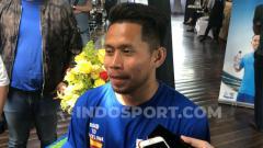 Indosport - Winger Bhayangkara Solo FC, Andik Vermansah.