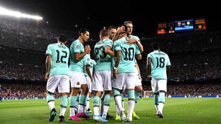 Jelang pertandingan Liga Champions lanjutan, striker andalan Inter Milan punya satu cara ampuh kandaskan Barcelona. - INDOSPORT