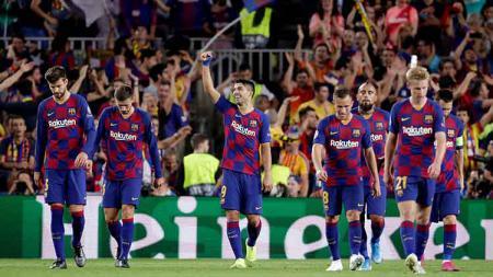 Victor Font menjadi salah satu kandidat Presiden klub LaLiga Spanyol Barcelona, dengan janji revolusi besarnya tanpa kehadiran Lionel Messi. - INDOSPORT