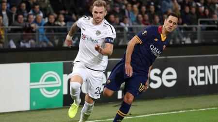 Berikut hasil pertandingan kedua Grup J Liga Europa 2019-2020 antara tuan rumah Wolfsberger AC vs AS Roma dimana kedua tim bermain sama kuat - INDOSPORT