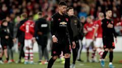Indosport - Manchester United mencatatkan setidaknya tiga statistik buruk dalam laga grup L Liga Europa melawan AZ Alkmaar pada Jumat (4/10/19).