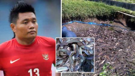 Wahyu Wijiastanto, Eks Kapten Timnas Indonesia yang kini jadi pebisnis ternak ikan. - INDOSPORT