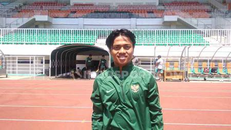 Berharap mendapatkan kesempatan untuk dimainkan, Andre Oktaviansyah tak ingin mengecewakan pelatih Timnas U-19, Shin tae-yong. - INDOSPORT