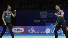 Indosport - Della Destiara Haris/Rizki Amalia Pradipta berhasil lolos ke final