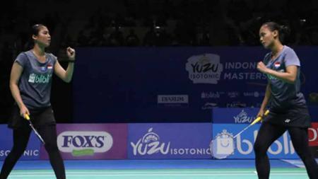 Della Destiara Haris/Rizki Amalia Pradipta mentok di semifinal Macau Open 2019. - INDOSPORT