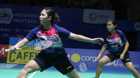Berikut tersaji hasil pertandingan kualifikasi Malaysia Masters 2020 antara Siti Fadia Silva Ramadhanti/Ribka Sugiarto dari Indonesia yang melawan wakil India. - INDOSPORT