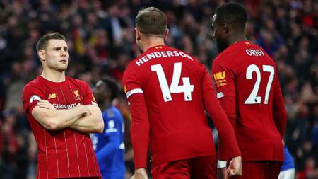 Liverpool masih terus membidik gelar juara Liga Inggris yang sudah 30 tahun diidam-idamkan. Clive Brunskill/GettyImages. - INDOSPORT