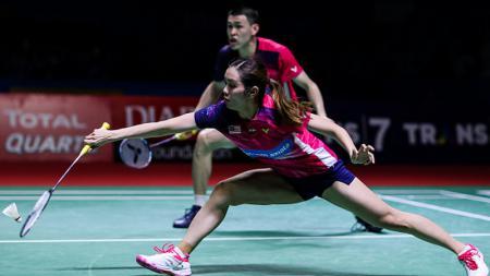 Pasangan Malaysia, Tan Kian Meng/Lai Pei Jing, langsung ingin saingi Praveen Jordan/Melati Daeva Oktavianti setelah menyingkirkan Rinov/Pitha di French Open. - INDOSPORT