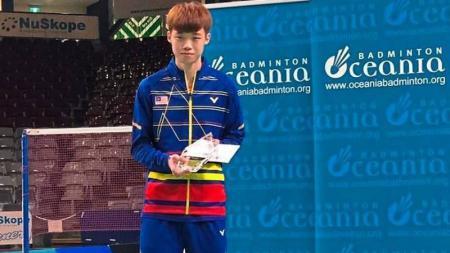 Bintang muda Malaysia, Ng Tze Yong mengaku sempat kecewa dengan keputusan Asosiasi Bulutangkis Malaysia (BAM) yang tidak menyertakan namanya di Piala Thomas. - INDOSPORT