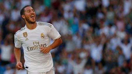 Dua penyerang andalan Madrid, Eden Hazard dan Gareth Bale, dipastikan absen dalam laga perempatfinal Copa del Rey, menghadapi Real Sociedad. - INDOSPORT
