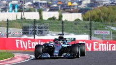 Indosport - Lewis Hamilton di F1 GP Jepang tahun 2018 silam
