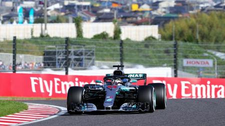 Lewis Hamilton di F1 GP Jepang tahun 2018 silam - INDOSPORT
