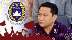 Indosport - Fary Djemy Francis calon ketum PSSI