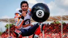 Indosport - Alex Rins beberkan rivalitasnya dengan Marc Marquez di MotoGP.