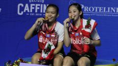 Indosport - Profil Ribka Sugiarto/Siti Fadia, Unggulan Pertama PBSI Home Tournament