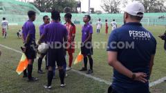 Indosport - Derby Jatim antara Persema vs Deltras dihentikan di menit 61 dalam laga Liga 3.