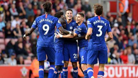 Chelsea dijagokan menjadi pesaing Liverpool dalam perburuan gelar juara Liga Inggris 2019-2020 usai meraih kemenangan atas Crystal Palace, Sabtu (09/11/19). - INDOSPORT