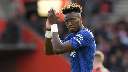 Tammy Abraham, striker muda klub Liga Inggris, Chelsea. - INDOSPORT