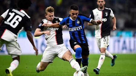 Setelah kalah dari Juventus, Inter Milan mendapat sebuah penghargaan dengan gelar konyol. Nicolò Campo/LightRocket via Getty Images. - INDOSPORT