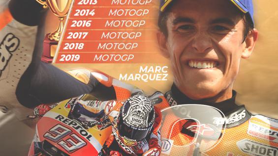 Marc Marquez juara dunia MotoGP. Copyright: Grafis: Eli Suhaeli/INDOSPORT