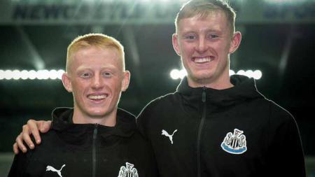 Pemain Newcastle, Matthew dan Sean Longstaff - INDOSPORT