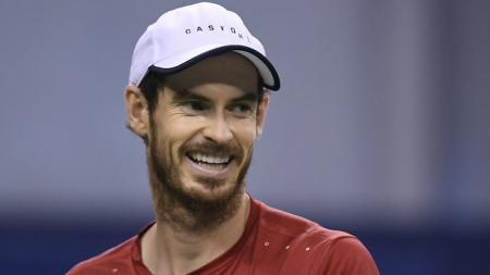 Andy Murray dalam turnamen tenis di China. - INDOSPORT