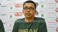 Indosport - Pelatih PSMS Medan,Jafri Sastra.