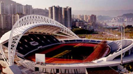 Wanzhou Pailou Sports Stadium. - INDOSPORT