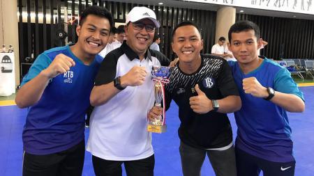 Mantan kiper timnas futsal Indonesia, Teguh Limas Sarendra. - INDOSPORT