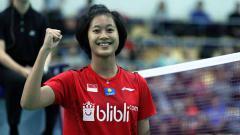 Indosport - Menyadari kehebatan Putri Kusuma Wardani, pebulutangkis tunggal putri nomor 1 Indonesia, Gregoria Mariska Tunjung mulai khawatir?