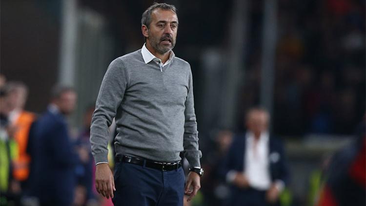 Marco Giampaolo baru saja dipecat oleh AC Milan, pada hari Rabu (09/10/19) dini hari WIB. Copyright: acmilan.com