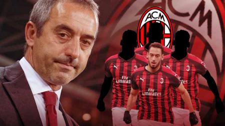 Dipecat AC Milan, ini deretan pengkhianat Marco Giampaolo. - INDOSPORT