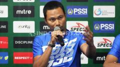 Indosport - Pelatih PSIS Semarang U-20, Muhammad Ridwan. Foto: Nofik Lukman Hakim