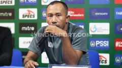 Indosport - Legenda Persebaya Surabaya, Uston Nawawi. Foto: Nofik Lukman Hakim