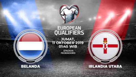 Prediksi Belanda vs Irlandia Utara. - INDOSPORT