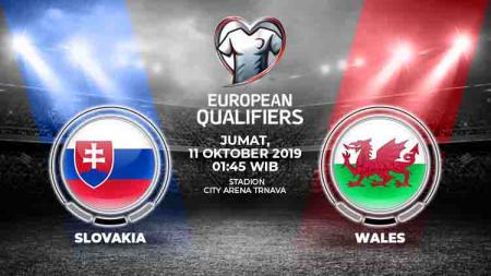 Prediksi Slovakia vs Wales - INDOSPORT
