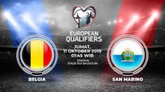 Indosport - Prediksi Belgia vs San Marino.