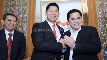 Raja Sapta Oktohari resmi menjabat sebagai Ketua Umum Komite Olimpiade Indonesia (KOI) periode 2019-2023. Okto terpilih secara aklamasi pada Kongres KOI di Hotel Ritz Carlton, Rabu (09/10/19). - INDOSPORT